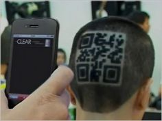 QR code haircut! (Drove 400% more website traffic for healthy scalp shampoo - www.mysmn.com) This is the most creative form of Guerrilla Marketing I have ever seen. This is ingenious and the results above prove that creativity yields results. This is motivation for our business endeavors in order to be trailblazers in our industry. http://www.businessopportunity.com/advertising-and-marketing/