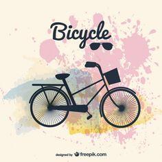 Imagen Bicicleta de diseño vectorial                                                                                                                                                                                 Más