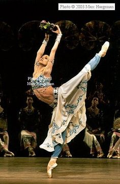 Svetlana Zakharova of the Mariinsky (Kirov) Ballet. Photography by Marc Haegeman