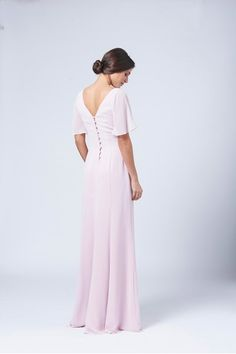 View our Range of Bespoke Bridesmaid Dresses in London. Bridal Wear & Dresses to suit your needs. Buy your Bridesmaid Dress & Bridal Wear Online - View Now! Unique Bridesmaid Dresses, Bridal Dresses, Bridesmaids, Maids To Measure, Zsa Zsa, Bridesmaid Inspiration, Chiffon Ruffle, Fitted Skirt, Dress Suits