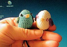 love birds free crochet pattern by Marjorie Jones