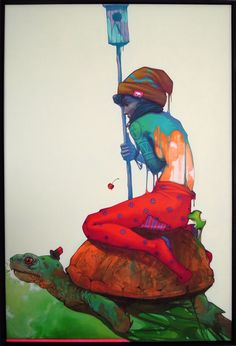 Canvases 2012 by SAINER, via Behance