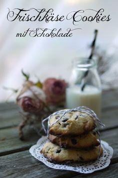 Experimente aus meiner Küche: Frischkäse Cookies mit Schokolade