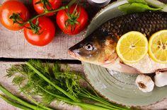 Fresh fish Cyprinus carpio by Victoria Rusyn Shop on Creative Market