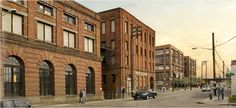 Georgetown in Seattle - the old Seattle Brewing & Malting Company, home of Rainier Beer