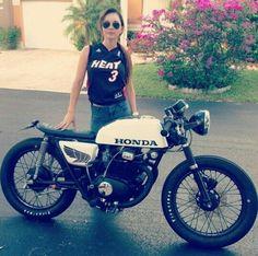 Honda cafe racer: