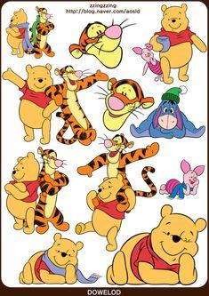 ★포토샵 스티커,디즈니 스티커 모음 62장! 미키마우스와 공주들 그리고 푸우 등등! 포토샵 디즈니 스티커 ... House At Pooh Corner, Winne The Pooh, Paddington Bear, Pooh Bear, Kids Jewelry, Creative Kids, Hello Kitty, Clip Art, Kawaii