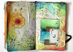 Awesome doodles #ArtJournal #Doodles #Sketchbook