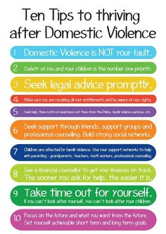 Surviving domestic violence.