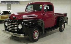 1949 Ford F1 trucks | PHOTOS DU FORD F1 1/2TON PICK-UP 1949 I really like these colors