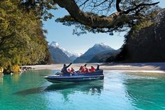 Queenstown jet boat tour through the Dart River Valley. Experience Middle Earth, Lord Of The Rings & the Hobbit scenes all year round. Book now