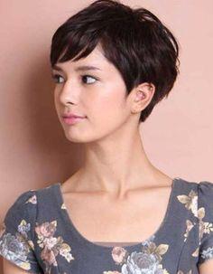 Les plus belles coupes courtes vues sur Pinterest Coupe cheveux court carré