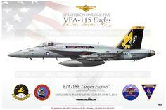UNITED STATES NAVY / Boeing Model: F/A-18E Super Hornet