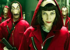 The series has big popularity in Netflix since last 2 years and after second season many fans are waiting for new season of La Casa de Papel. New teaser is published yesterday and next season is coming. Tv Series On Netflix, Shows On Netflix, Series Movies, Movies And Tv Shows, Netflix Tv, Movie Film, Watch Movies, Rick Grimes, Carnival