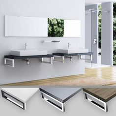 The design sink console Tavolum is luxurious and classy.
