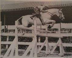 Robert Egan showing Miss Budweiser for the Busch family in the 1950'