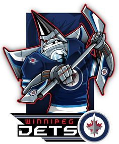 Here's #EPoole88's cartoon of the Winnipeg Jets.