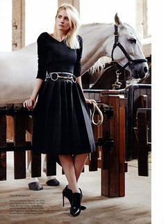 French Riding //Harper's Bazaar Germany September 2013