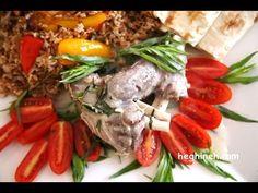 Tarragon Lamb Shanks Recipe - Armenian Cuisine - heghineh.com
