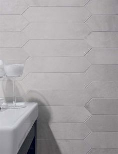 Visions Trapezi Tile by Rex Ceramiche. Free shipping on porcelain tile. Kitchen Redo, Kitchen Backsplash, Kitchen Remodel, Kitchen Tips, Kitchen Ideas, Master Bath Tile, Bath Tiles, Wood Stone, Style Tile