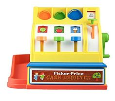 Fisher Price Classics Cash Register Toy: Amazon.co.uk: Toys & Games