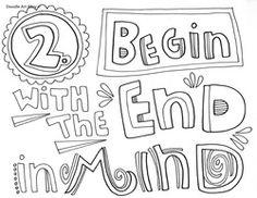 Habits of Happy Kids doodle 2