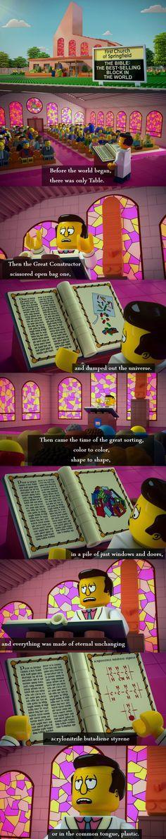 Lego Genesis - Simpsons