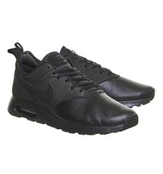 the best attitude d188e a44ae Nike Air Max Tavas Black Leather - His trainers httpwww.95gallery