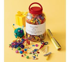 """obviously for kids, not me, but this """"i'm not bored anymore"""" jar is an awesome idea."""