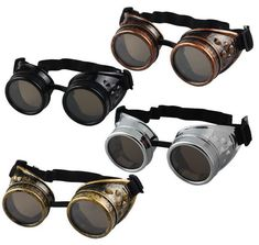 These Steampunk goggles are a must have... Which one is your favorite? Click this link to see more! >>> https://www.steampunkempirestore.com/products/steam-punk-goggles