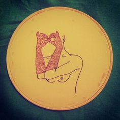 Embroidery by Clube do Bordado #clubedobordado #embroidery #bordado