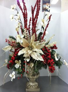 Trina, this would be beautiful for Christmas  arrangement for the church