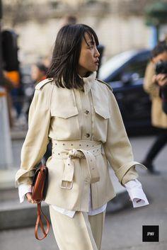 Miyuki Uesugi during Paris Fashion Week Fall Winter 2017