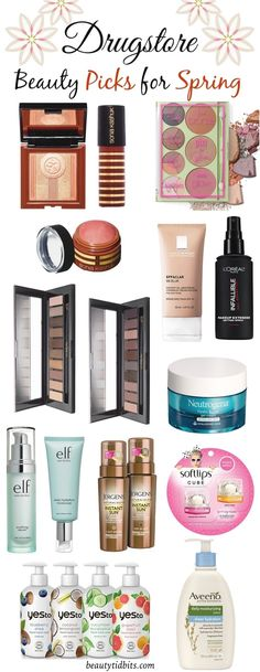11 New Drugstore Beauty Steals You Need For Spring!