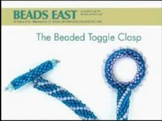 Beaded Toggle Clasp from Beads East