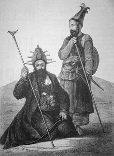 Le bourreau de Kaboul et son aide, 11 janvier 1879
