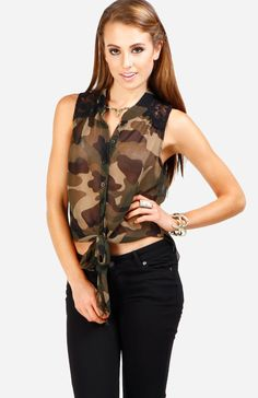 camouflage #dailylook #top