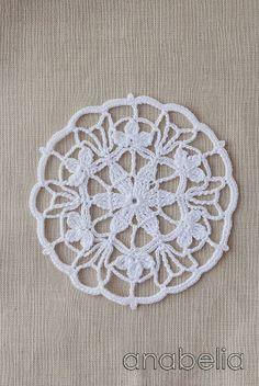 Crochet doily, Anabelia