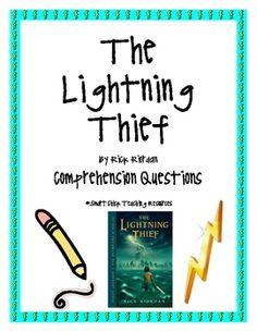 the lightning thief percy jackson gods goddesses vocabulary