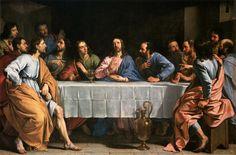 Last Supper Art, The Last Supper Painting, Jesus Last Supper, Villeneuve Sur Lot, Philippe De Champaigne, Communion Prayer, Star Wars Painting, Catholic Pictures, Bible Pictures