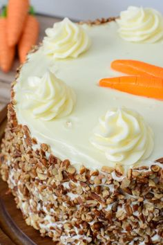 The Best Carrot Cake Recipe with Cream Cheese Frosting