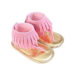 Cheap sandal baby shoes, Buy Quality sandal girls shoes directly from China baby girls sandals shoes Suppliers: 2017 Baby Girl Tassel Sandal Summer Baby Shoes Anti-slip Flip Flop Newborn Prewalker Baby Girl Shoes, Girls Shoes, Costume Queen, Baby Sandals, Summer Sandals, Summer Shoes, Girls Sandals, Gland, Kids Fashion