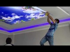 Gergi tavan nedir gergi tavan Nasıl yapılır gergi tavan bayilik 05325722924 02128835281 - YouTube