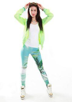 """leggins """"big blue"""" endorfinawear.com"""