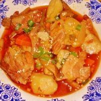 Vlees en Groenten met Kimchi soep Soep   Smulweb.nl