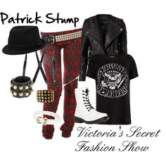 """""""Patrick Stump: Victoria's Secret Fashion Show"""" Fall Out Boy inspired outfit"""