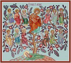 orthodox jesse tree ornaments and readings