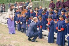 Royal Tour Bhutan. April 14, 2016.