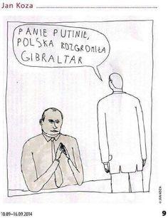 Mr Putin, Poland defeated Gibraltar