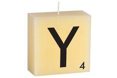 """Y"" Scrabble Letter"
